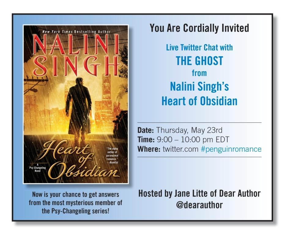 Nalini Singh Ghost Twitter Invite