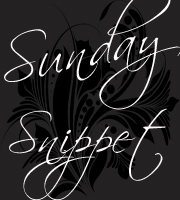 sunday snippet