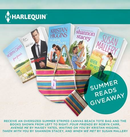 HQN summer reads giveaway