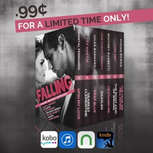 Falling Sale Ad with Retailers