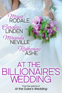 cover Ashe, AT THE BILLIONAIRE'S WEDDING 800