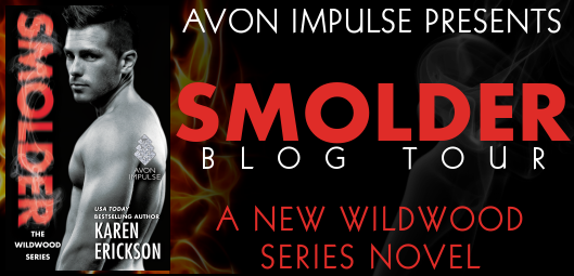 REVISED - Avon Impulse - Blog Tour - Smolder by Karen Erickson